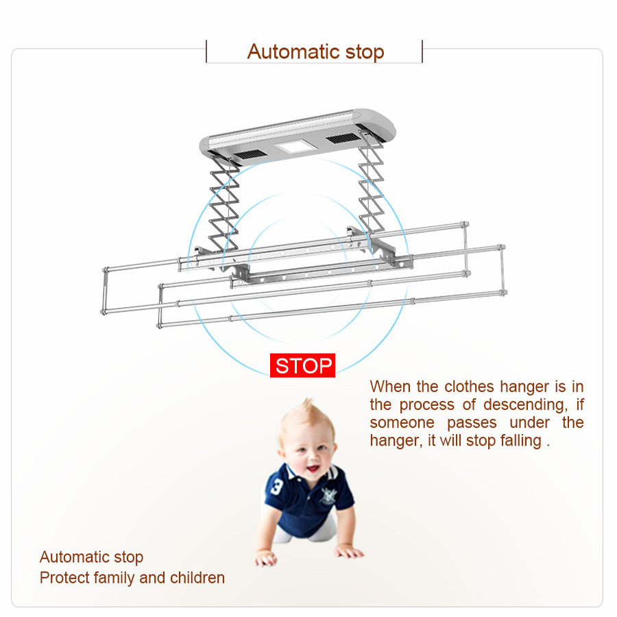 ceiling clothes hanger